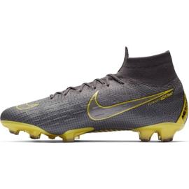 Buty piłkarskie Nike Mercurial Superfly 6 Elite Fg M AH7365-070 szare czarne 1