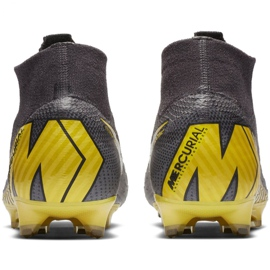 Buty piłkarskie Nike Mercurial Superfly 6 Elite Fg M AH7365-070 szare czarne 6
