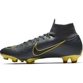 Buty piłkarskie Nike Mercurial Superfly 6 Pro Fg M AH7368-070 szare czarne 1