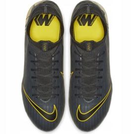 Buty piłkarskie Nike Mercurial Superfly 6 Pro Fg M AH7368-070 szare czarne 2