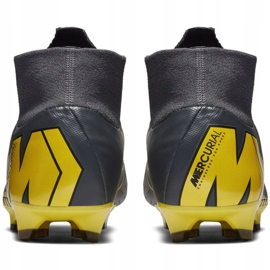 Buty piłkarskie Nike Mercurial Superfly 6 Pro Fg M AH7368-070 szare czarne 6