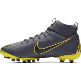 Buty piłkarskie Nike Mercurial Superfly 6 Academy Mg Jr AH7337-070 szare wielokolorowe 1