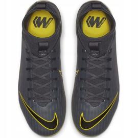 Buty piłkarskie Nike Mercurial Superfly 6 Academy Mg Jr AH7337-070 szare wielokolorowe 2