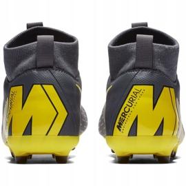 Buty piłkarskie Nike Mercurial Superfly 6 Academy Mg Jr AH7337-070 szare wielokolorowe 4