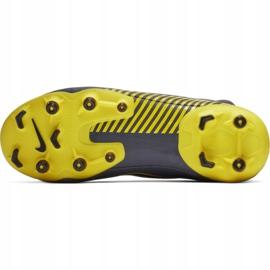 Buty piłkarskie Nike Mercurial Superfly 6 Academy Mg Jr AH7337-070 szare wielokolorowe 5