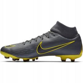 Buty piłkarskie Nike Mercurial Superfly 6 Academy FG/MG M AH7362-070 szare wielokolorowe 1