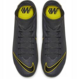 Buty piłkarskie Nike Mercurial Superfly 6 Academy FG/MG M AH7362-070 szare wielokolorowe 2
