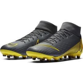 Buty piłkarskie Nike Mercurial Superfly 6 Academy FG/MG M AH7362-070 szare wielokolorowe 5