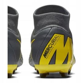 Buty piłkarskie Nike Mercurial Superfly 6 Academy FG/MG M AH7362-070 szare wielokolorowe 6