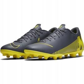 Buty piłkarskie Nike Mercurial Vapor 12 Club Mg M AH7378-070 czarne czarne 5