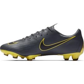 Buty piłkarskie Nike Mercurial Vapor 12 Pro Fg M AH7382-070 szare szare 1