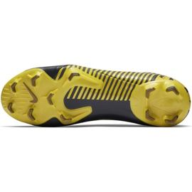 Buty piłkarskie Nike Mercurial Vapor 12 Pro Fg M AH7382-070 szare szare 3