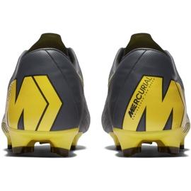 Buty piłkarskie Nike Mercurial Vapor 12 Pro Fg M AH7382-070 szare szare 6
