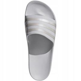 Klapki adidas Adilette Aqua F35531 szare 1