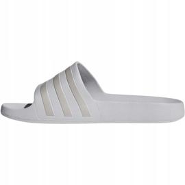 Klapki adidas Adilette Aqua F35531 szare 2