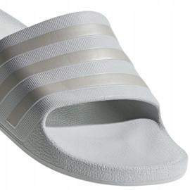 Klapki adidas Adilette Aqua F35531 szare 3
