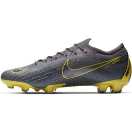 Buty piłkarskie Nike Mercurial Vapor 12 Elite Fg M AH7380-070 szare szare 1