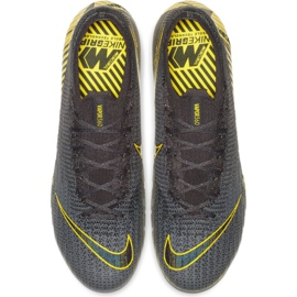 Buty piłkarskie Nike Mercurial Vapor 12 Elite Fg M AH7380-070 szare szare 2