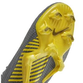 Buty piłkarskie Nike Mercurial Vapor 12 Elite Fg M AH7380-070 szare szare 4