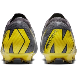 Buty piłkarskie Nike Mercurial Vapor 12 Elite Fg M AH7380-070 szare szare 6
