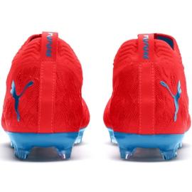Buty piłkarskie Puma Future 19.2 Netfit Fg Ag M 105536 01 czerwone wielokolorowe 3