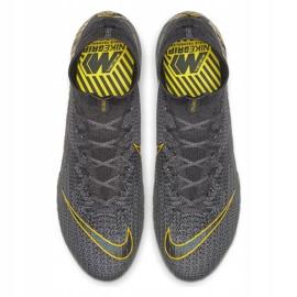 Buty piłkarskie Nike Mercurial Superfly 6 Elite Ag Pro M AH7377-070 czarne szare 2