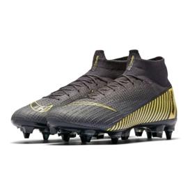 Buty piłkarskie Nike Mercurial Superfly 6 Elite SG-Pro M AH7366-070 czarne wielokolorowe 3