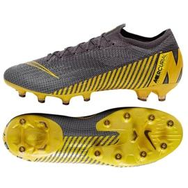 Buty piłkarskie Nike Mercurial Vapor 12 Elite Ag Pro M AH7379-070 szare szare 5
