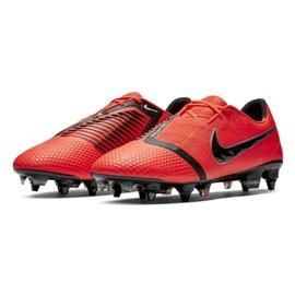 Buty piłkarskie Nike Phantom Venom Elite Sg Pro Ac M AO0575-600 czerwony czerwone 3