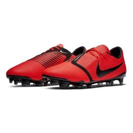Buty piłkarskie Nike Phantom Venom Pro Fg M AO8738-600 czerwone czerwone 2