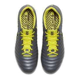 Buty piłkarskie Nike Tiempo Legend 7 Elite Ag Pro M AH7423-070 czarne szare 2