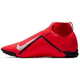 Buty piłkarskie Nike React Phantom Vsn Pro Df Tf M AO3277-600 czerwony czerwone 1
