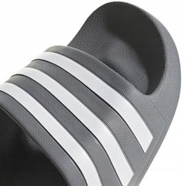 Klapki adidas Adilette Aqua F35538 białe wielokolorowe 3