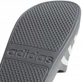 Klapki adidas Adilette Aqua F35538 białe wielokolorowe 5