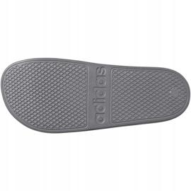 Klapki adidas Adilette Aqua F35538 białe wielokolorowe 6