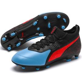 Buty piłkarskie Puma One 19.3 Fg Ag M 105486 01 czarne czarne 4