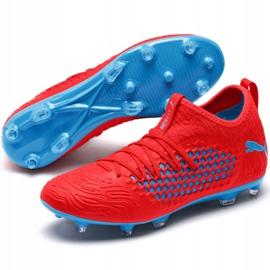 Buty piłkarskie Puma Future 19.3 Netfit Fg Ag M 105539 01 czerwone czerwone 4