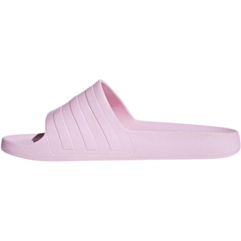 Klapki adidas Adilette Aqua F35547 różowe 1