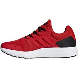 Buty biegowe adidas Galaxy 4 M F36160 czerwone 2