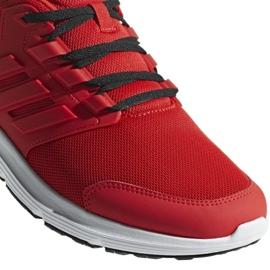 Buty biegowe adidas Galaxy 4 M F36160 czerwone 3
