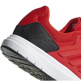 Buty biegowe adidas Galaxy 4 M F36160 czerwone 4