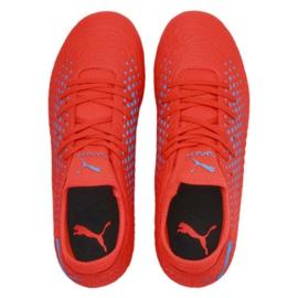 Buty piłkarskie Puma Future 19.4 Fg Ag Jr 105554 01 czerwony czerwone 1