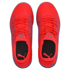 Buty halowe Puma Future 19.4 It Jr 105559 01 czerwony czerwone