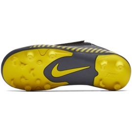 Buty piłkarskie Nike Mercurial Vapor 12 Club PS(V) Mg Jr AH7351-070 szare wielokolorowe 2