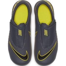 Buty piłkarskie Nike Mercurial Vapor 12 Club PS(V) Mg Jr AH7351-070 szare wielokolorowe 3