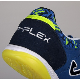 Buty halowe Joma Top Flex 804 In M J10012001.804.IN niebieskie niebieskie 3