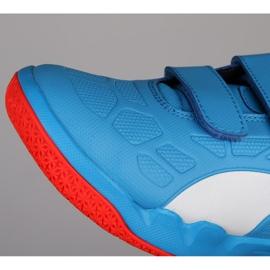 Buty halowe Puma Tenaz V Jr Bleu Azur 104891 06 niebieskie niebieski 1