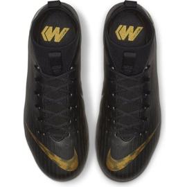 Buty piłkarskie Nike Mercurial Superfly 6 Academy Mg Jr AH7337-077 wielokolorowe czarne 2