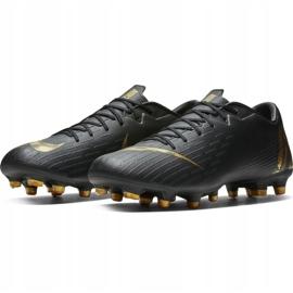 Buty piłkarskie Nike Mercurial Vapor 12 Academy Mg M AH7375-077 czarne wielokolorowe 3