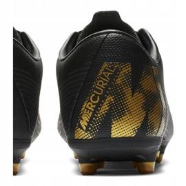 Buty piłkarskie Nike Mercurial Vapor 12 Academy Mg M AH7375-077 czarne wielokolorowe 4